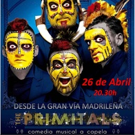 "Comedia Musical ""The Primitals"""