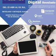 Curso de Revelado digital y Retoque ( Abril - Julio 2019)